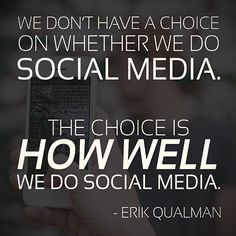 Social media is too big to ignore.