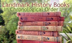 Landmark Books Chronologically – Project Inspire
