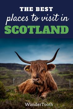 The best places to visit in Scotland, UK. Scotland Travel Tips and everything you need to know about this magical region.   Scotland castles   Scotland highlights   Edinburgh   Scotland Travel Itinerary - @WanderTooth