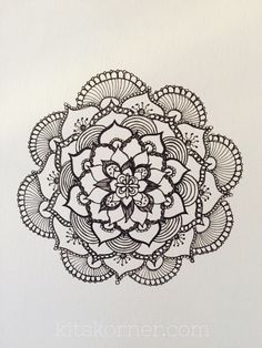Mandalas are amazing and so much fun! ... I decided to gather up some of the mandala tutorials that I used in my mandala journey to share with you..