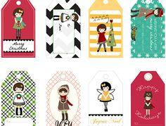Mason Jar Crafts - Free Printables – 8 Holiday Angel Gift Tags for Crafts or Gifts   #crafts #masonjars via Put it in a Jar (putitinajar.com)