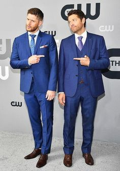 Misha and Jensen - you can't tell me they didn't plan this to troll us