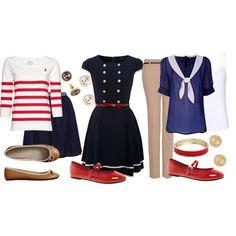 Teacher Outfits on a Teacher's Budget: Nautical super cute!!!