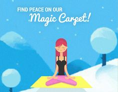"""Check out new work on my @Behance portfolio: """"Yoga - GIF"""" http://be.net/gallery/38515057/Yoga-GIF"""