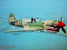 p40 warhawk figting tigers