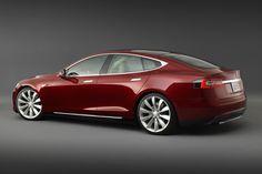 TESLA Model S Signature, Rear View