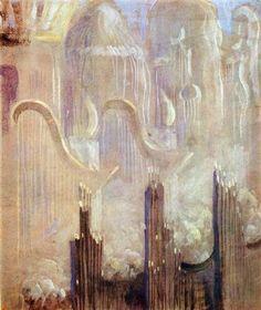 Creation of the World XI - Mikalojus Ciurlionis