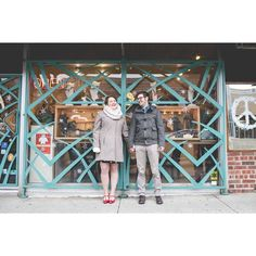 We ❤️ our Abra Couples!!! Thanks for sharing this fabulous engagement photo Jennifer & Charlie!!! We love that you took a pic in front of Abra & can't wait to see the rest of them! xoxo, The Abra Crew #annarbor #engagementphoto #abrajewelry #abracadabra #love #a2photos