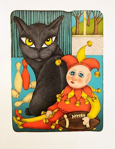 Frantisek Pon Cat Boarding, All About Cats, Black Cats, Cat Art, Tweety, Pikachu, Pictures, Fictional Characters, Cats