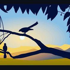 My tenth lanscape within #personalchallange  #30scapes #landscape #sunruse #sunriselandscape #vectorillustration #vectorlandscape