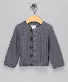 gray sweaters for infant boys   Cardigan Sweater Grey Cable  Sweaters Vitamins Baby