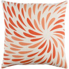 emma at home by Emma Gardner Flying Colors Eye of the Storm Throw Pillow