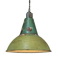 Pendant Lamp Oxidise Antique Green - 91242