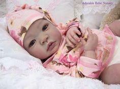 Shy Ann Shyann Aleina Peterson Reborn Baby Doll Kit Soft Peach Vinyl New Reborn Baby Girl, Reborn Nursery, Newborn Baby Dolls, Reborn Babies, Life Like Baby Dolls, Life Like Babies, Lifelike Dolls, Realistic Dolls, Wiedergeborene Babys