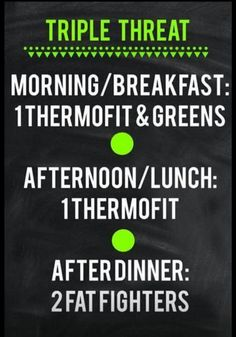 It Works Triple Threat! Amazing way to lose weight and add energy to your day!