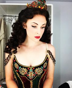 "Emilie Lynn via Instagram - 23 Oct 2015 - ""Details and concentration. Also, new wig tonight...I'll call her Becky  #2daysleft #phantomoftheopera #guangzhouoperahouse #thephantomoftheopera #phantom…"""