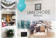 Lakeshore Designs Grand Opening of New Location in Lakefield #Lakefield #Designer