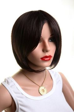 Easy And Simple Weight Loss Bob Styles, Short Hair Styles, Beauty Hair Extensions, Natural Wigs, Straight Bob, Short Bob Wigs, Womens Wigs, Super Natural, Wig Cap