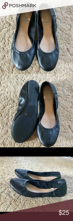 """Ana A New Approach Black """"Epic"""" Flats Worn once. All man made materials. Style is called """"Epic"""". Medium width. ana a new approach Shoes Flats & Loafers"""