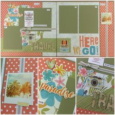 Simple Stories You Are Here Best site ever for page layout kits! www.scrapbookstation.com