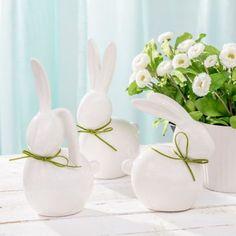 wielkanocne dekoracje - Szukaj w Google Diy, Rabbits, Google, Goblin, Chair Pads, Scarves, Ad Home, Bricolage, Rabbit
