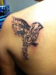 42 Treble Clef Tattoos With Significant Meanings