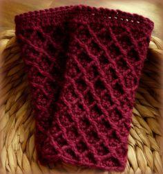Gehäkelte Pulswärmer - Crocheted Mitts