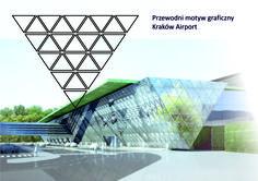 Design logo for Kraków Balice airport.