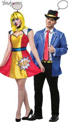 Pop Art Girl Costume