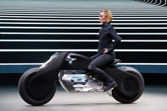 BMW's motorcycle of the future doesn't need a helmet