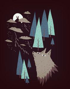 2 wolves by ~louisroskosch on deviantART