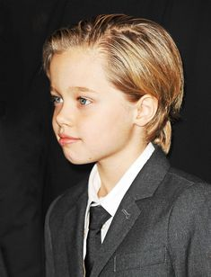 Shiloh Jolie-Pitt Steals the Spotlight in a Suit