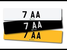 Number plate 7 AA with retention certificate. / MAD on Collections - Browse and find over 10,000 categories of collectables from around the world - antiques, stamps, coins, memorabilia, art, bottles, jewellery, furniture, medals, toys and more at madoncollections.com. Free to view - Free to Register - Visit today. #Cars #NumberPlates #MADonCollections #MADonC