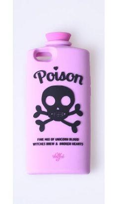 Lavender 3D Poison Silicone iPhone 6/6S Case