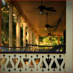 Everyone should have a front porch like this.