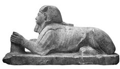 Sphinx of Amenhotep I from Karnak Cachette, now in National Alexandria Museum