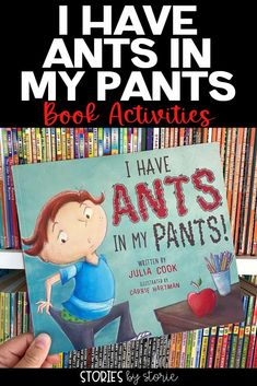 I Have Ants in My Pants by Julia Cook is about a boy who can't sit still no matter how hard he tries. This book includes helpful tips for teachers and parents. I have a few activities you can pair with this book, too! Teaching Strategies, Teaching Tips, Primary Classroom, Classroom Ideas, Julia Cook, Book Activities, Boys Who, Classroom Management, Helpful Tips