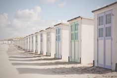 Dutch Beach Huts, Texel, the Netherlands. Photo: Natalie Williams.