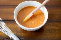 How to make Salted Caramel Sauce.