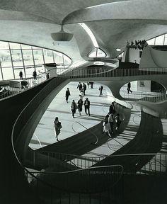 Eero Saarinen: Shaping The Future. Lotnisko JFK