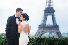 Gaby and Hector got married in Paris at the Spanish church after which we explored Paris and created magical souvenirs. #parisphotographer #parisengagement #eiffeltower www.theparisphotographer.com