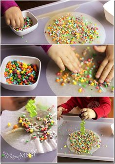 Candy Chromatography ~ Candy science for kids - feel like this could be modified for higher grade levels