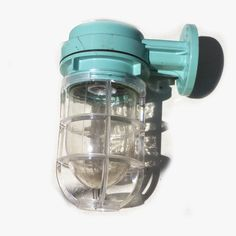 Original Japanese cargo ships passage lights.Industrial in style. Easy access to the bulb holder, glass cover unscrews.They all vary in colour and condition.Original fitting which should be adequate but may need replacing by an electrician.Dimensions.10in height x 7in deep1kg