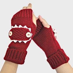 Burgundy Red Beige Lace Trim Buttoned Accent Knit  Fingerless Thumb Hole Arm Warmer Gloves. Get the lowest price on Burgundy Red Beige Lace Trim Buttoned Accent Knit  Fingerless Thumb Hole Arm Warmer Gloves and other fabulous designer clothing and accessories! Shop Tradesy now
