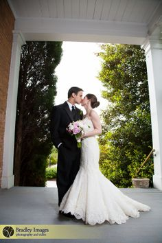 Porch wedding