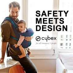 We are keeping our babes close with Cybex 2.GO. We love the versatility of the adjustable head support, 5 carrying positions and 70% of the weight carried on the hips making our errands a comfortable trip!