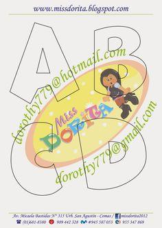 Miss Dorita: Abecedario Grande 2
