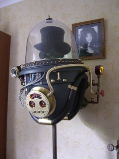 There are Steampunk googles, and then there are Steampunk goggles that are quality made and look pretty damn spiffy too. Description from slipperybrick.com. I searched for this on bing.com/images