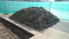 A rather neat pile of rubbish from footings Call: 01527 873085