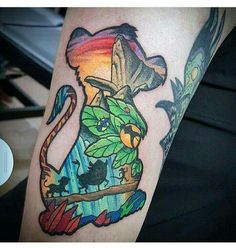 The perfect Lion King tattoo